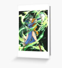 Fire Emblem Heroes Brave Lyn Greeting Card