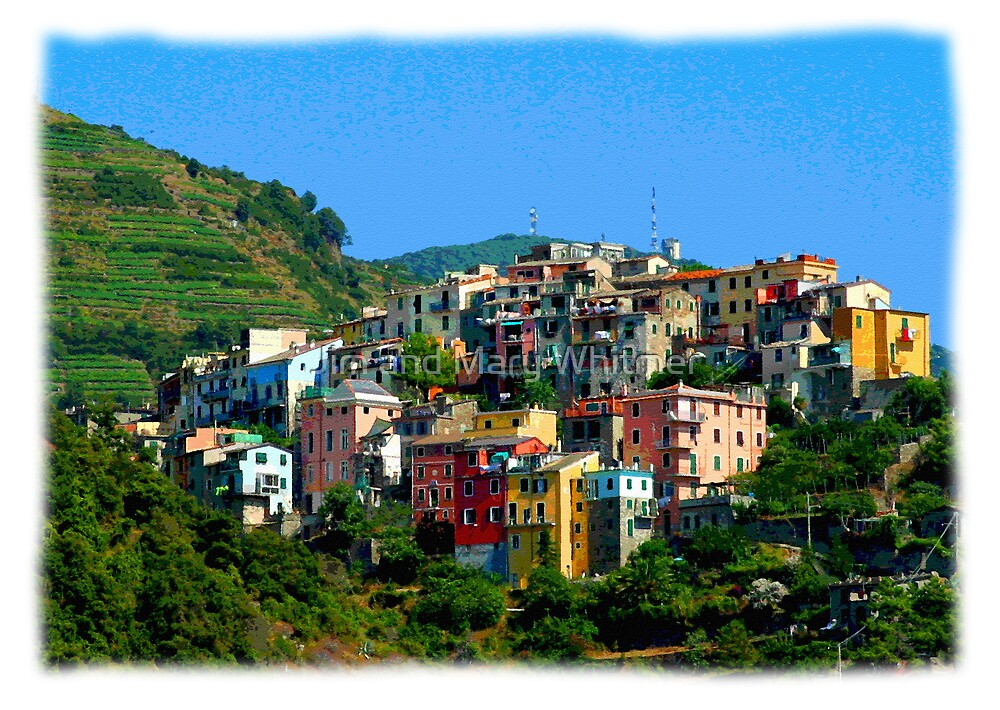 TA-E04-10 Cinque Terre, Italy by Jim and Mary Whitmer