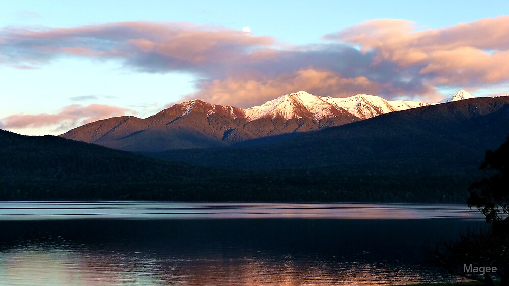 Lake Te Anau by Magee