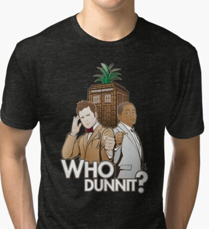 Crime Fighting Duo Tri-blend T-Shirt