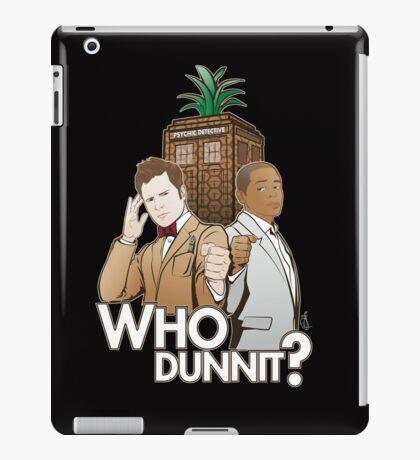 Crime Fighting Duo iPad Case/Skin
