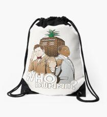 Crime Fighting Duo Drawstring Bag