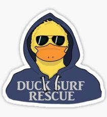Duck Surf Rescue  Sticker