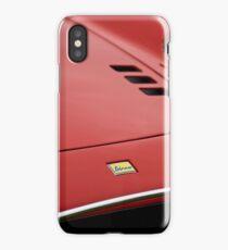 1974 F Dino 246GTS Hood Emblem -0698c iPhone Case