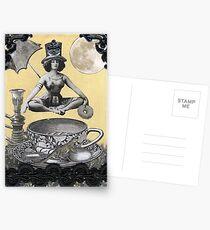 Java Goddess Postkarten