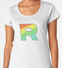 Rainbow Rocket Women's Premium T-Shirt