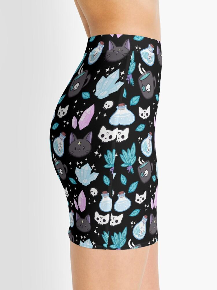 Alternate view of Herb Witch // Black Mini Skirt