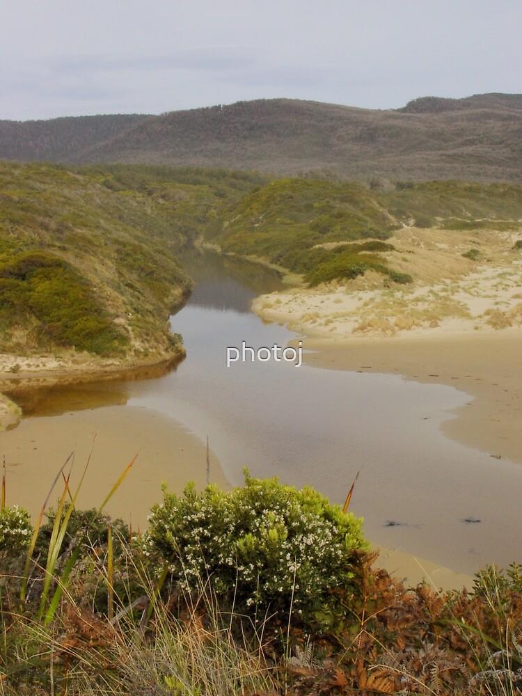 photoj Tas South-Bruny Island Landscape by photoj