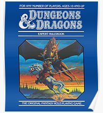 Dungeons and Dragons Expert Rule book (remastered) Poster