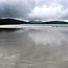 Sand Reflections, Isle of Harris Beach, Scotland by BlueMoonRose