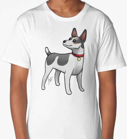 Rat Terrier Long T-Shirt
