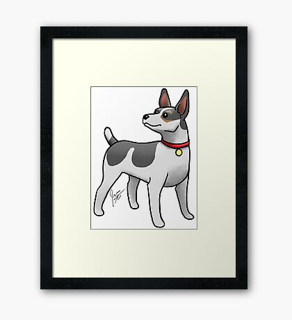 Rat Terrier Framed Print