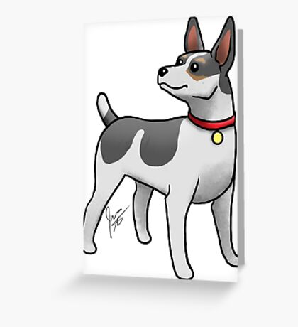 Rat Terrier Greeting Card