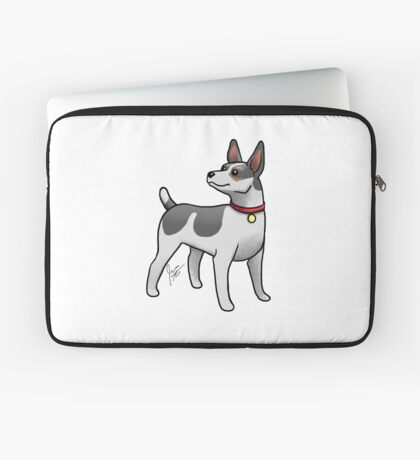 Rat Terrier Laptop Sleeve
