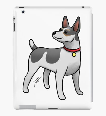 Rat Terrier iPad Case/Skin