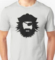 Pirate Head Silhouette T-Shirt