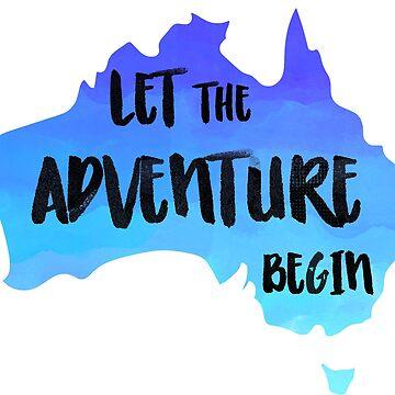 Australia - Let The Advenutre Begin by AnnieKress