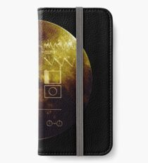 Voyager Golden Record iPhone Wallet/Case/Skin