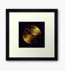 Voyager Golden Record Framed Print