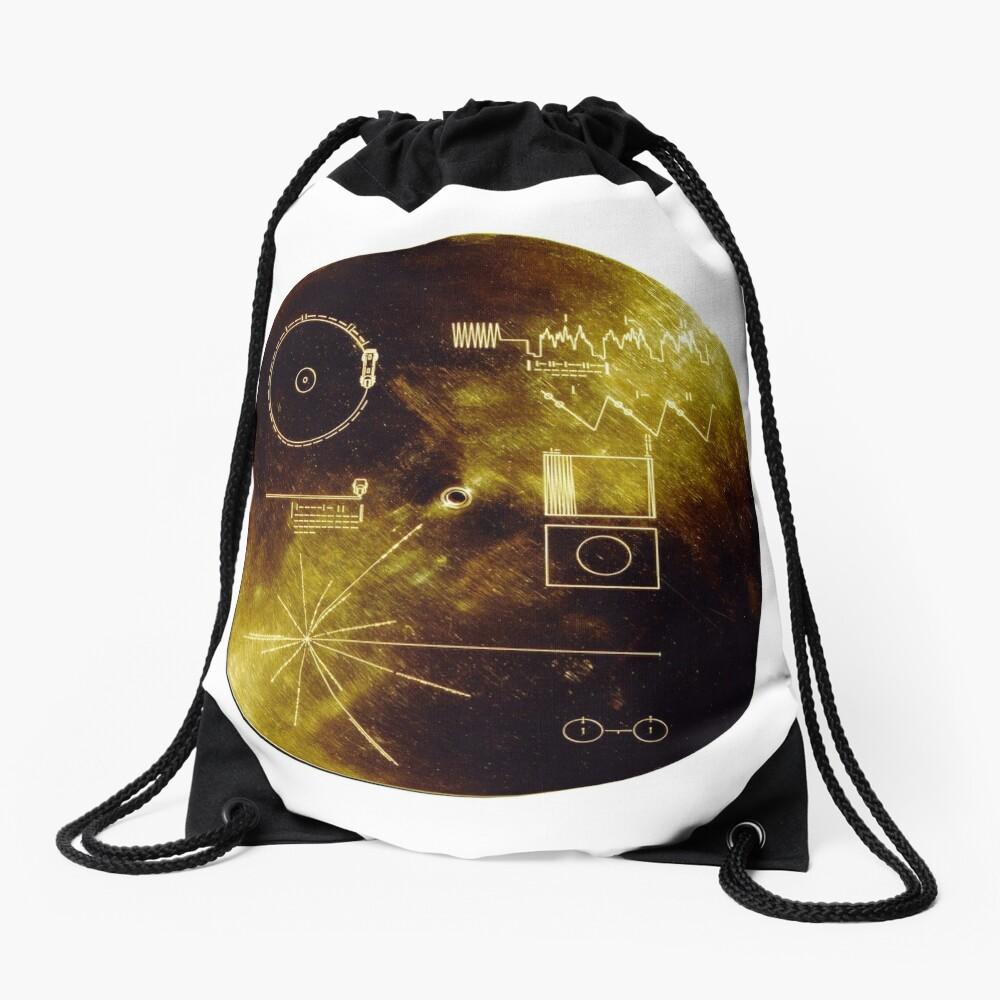 Voyager Goldene Schallplatte Rucksackbeutel