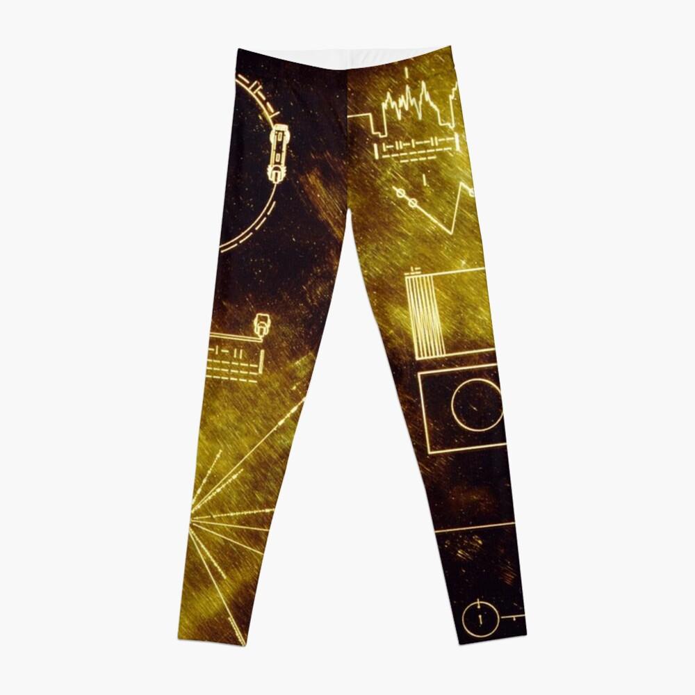 Voyager Goldene Schallplatte Leggings