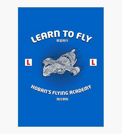 Learn to Fly Photographic Print