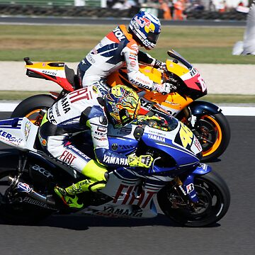 Rossi, Hayden and a seagull by funkysmel