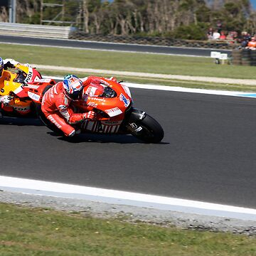 Casey Stoner and Nicky Hayden by funkysmel