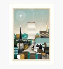 Digbeth In Tangent Art Print