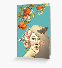 Darlin' Clementine Greeting Card