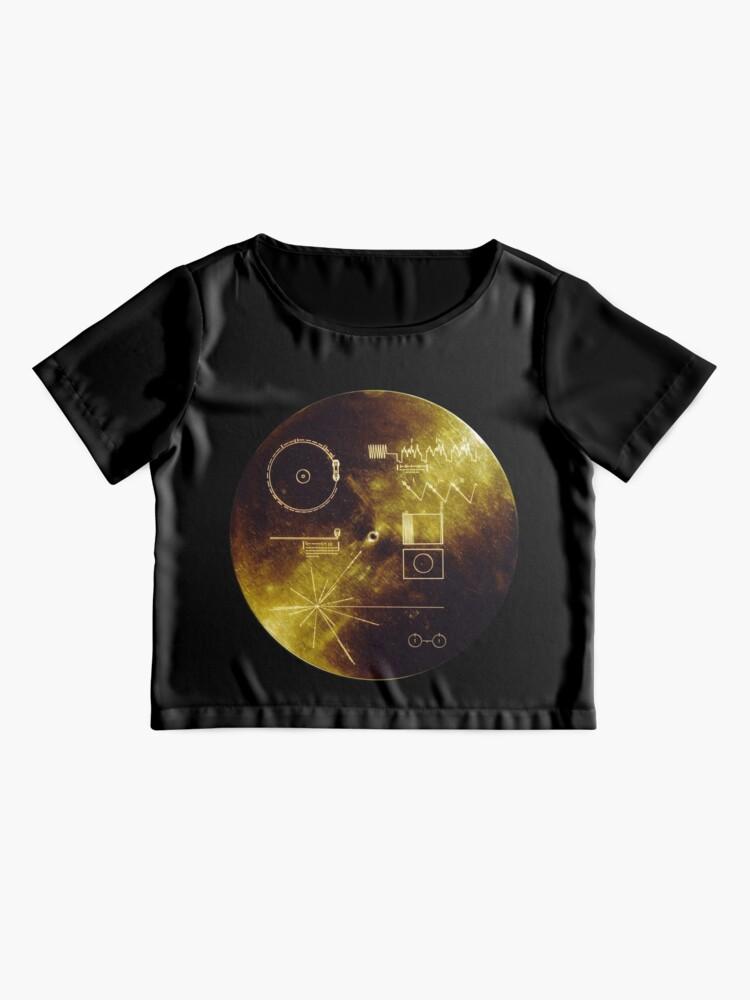 Alternative Ansicht von Voyager Goldene Schallplatte Chiffontop