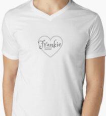 Personalised - Frankie Men's V-Neck T-Shirt
