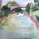 Bridge to Dockyard, Bermuda by Lucy Hollis