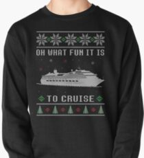 Ugly Christmas Cruise Ship Vacation Pullover