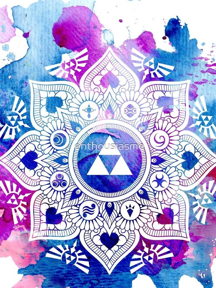 La leyenda de un Zelda Mandala de enthousiasme