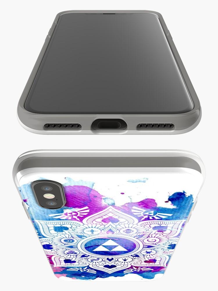Vista alternativa de Vinilos y fundas para iPhone La leyenda de un Zelda Mandala