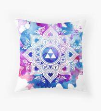 The Legend of a Zelda Mandala Throw Pillow