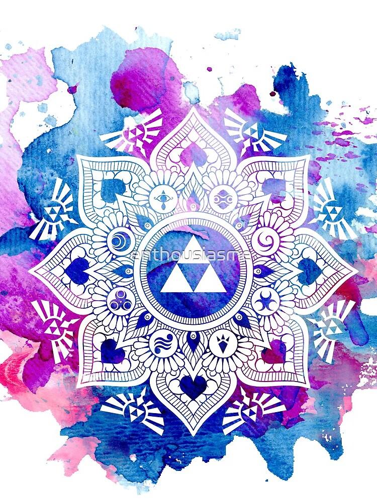 Die Legende eines Zelda Mandala von enthousiasme