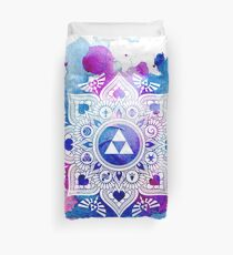 The Legend of a Zelda Mandala Duvet Cover