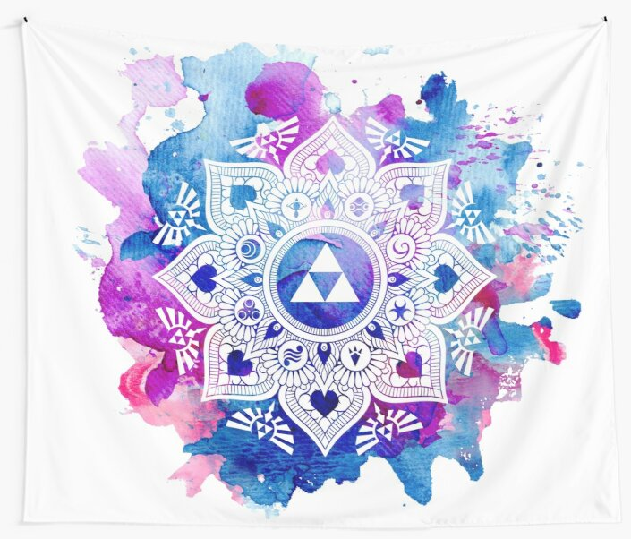 Quot The Legend Of A Zelda Mandala Quot Wall Tapestries By