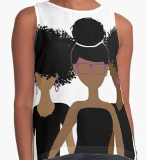 Curly Girl Trio {Royalty} Contrast Tank