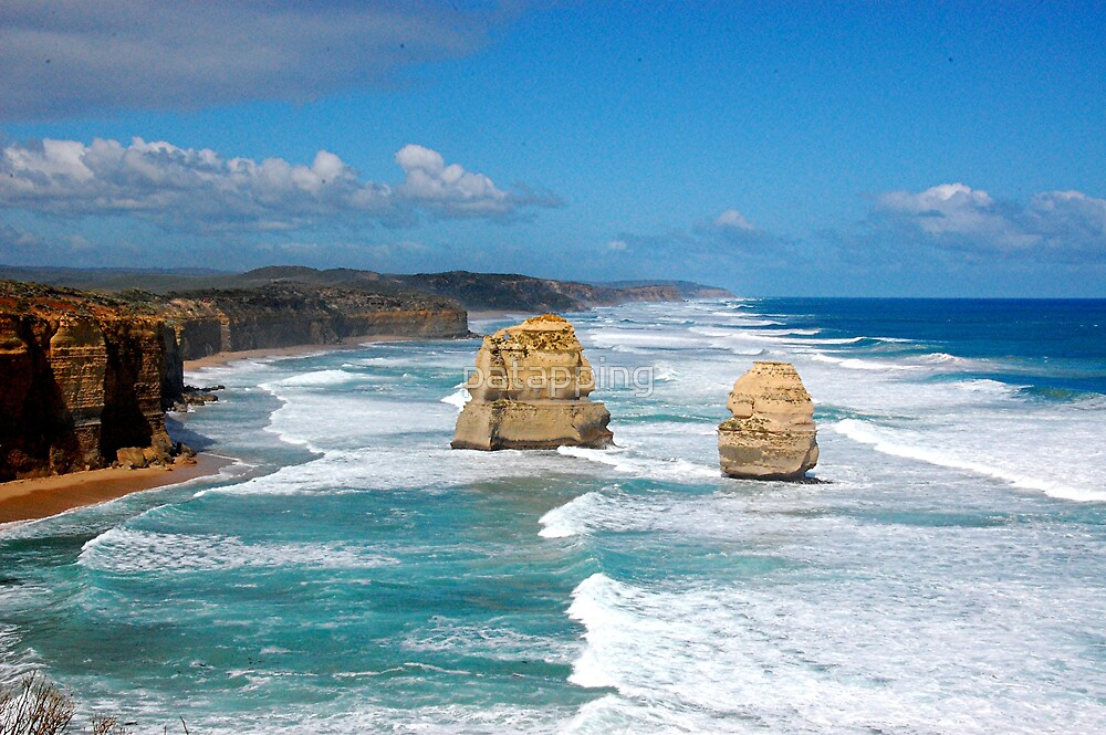 Great Ocean Road No4 Victoria by patapping