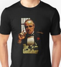 god father - Photographs of a child swaddled in layers arrive by post. T-Shirt