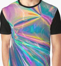 Holographisch Grafik T-Shirt