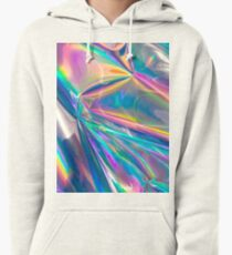 Holographic Pullover Hoodie
