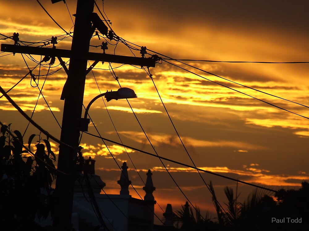 Newtown Sunset by Paul Todd