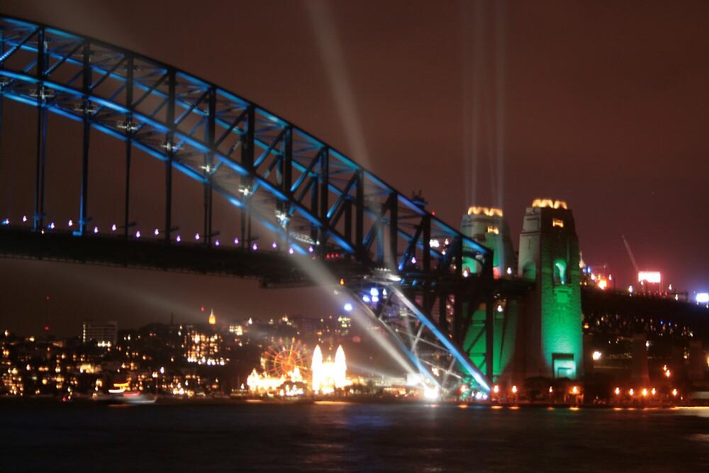Sydney Harbour Bridge 75th Anniversary by kingdaniel69
