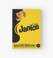 Janice Poster Hardcover Journal