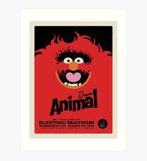 Animal Poster Art Print