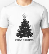 Meowy Christmas T-Shirt